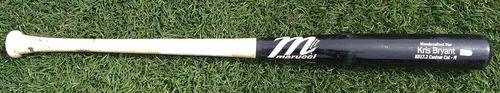 Photo of Kris Bryant Game-Used Bat -- 4/8/16 at Arizona Diamondbacks -- Daniel Hudson to Kris Bryant, Top 8th