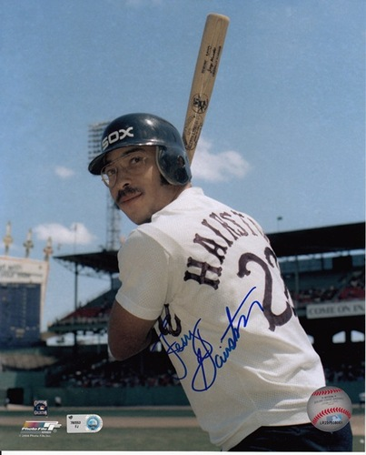 Photo of Jerry Hairston Autographed 8x10