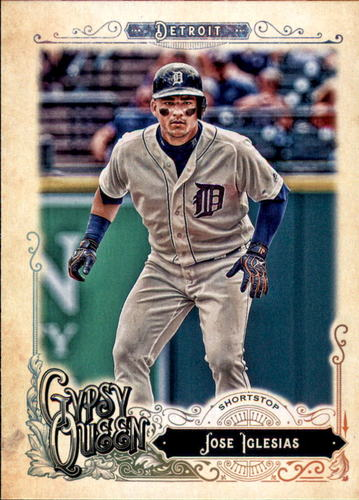 Photo of 2017 Topps Gypsy Queen #261 Jose Iglesias