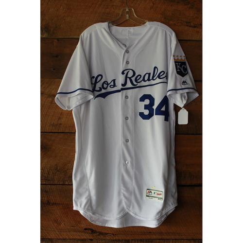 Photo of Travis Wood Game-Used Jersey (6/24/17 TOR at KC) (Size 46)