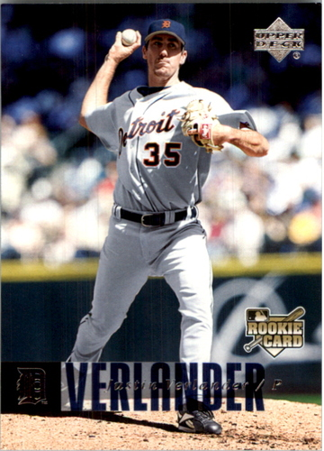 Photo of 2006 Upper Deck #922 Justin Verlander (RC)