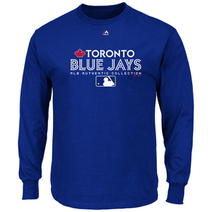 Toronto Blue Jays Authentic Collection Team Drive Long Sleeve by Majestic