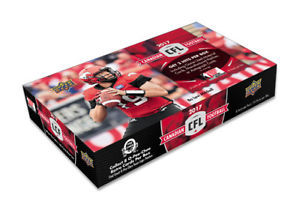 Limited Edition unopened 24 pack box of CFL player cards