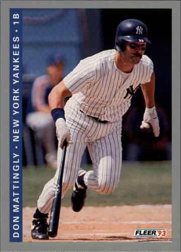 Photo of 1993 Fleer #281 Don Mattingly