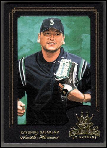 Photo of 2003 Diamond Kings Gold Foil #59 Kazuhiro Sasaki
