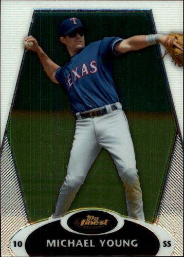 Photo of 2008 Finest #102 Michael Young