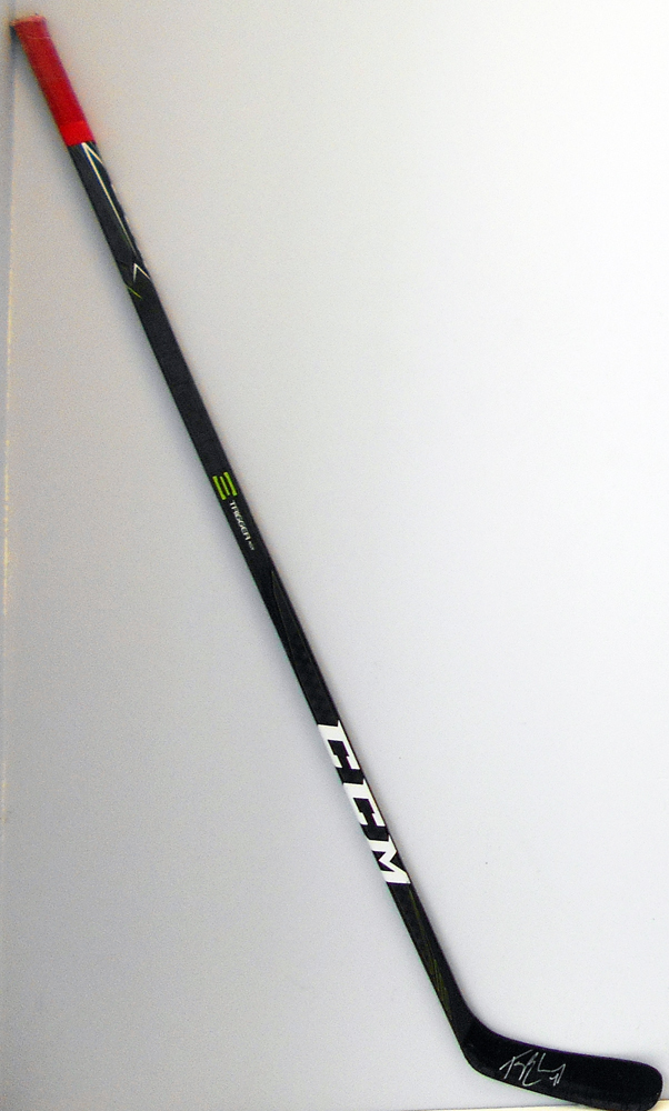 #4 Taylor Chorney Game Used Stick - Autographed -  Washington Capitals