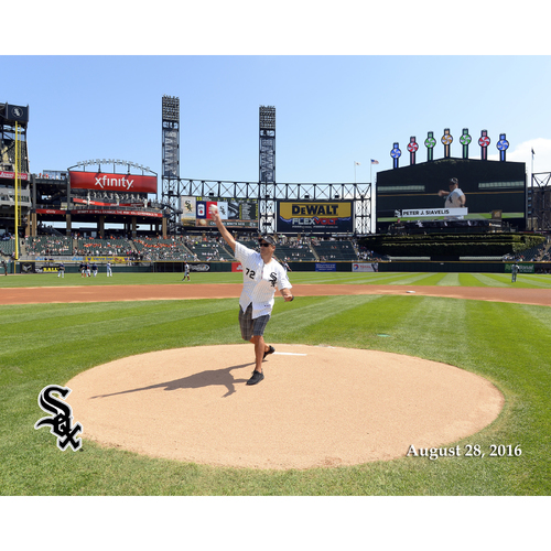 Photo of Sox Serve Week - Bringing the Heat: Opportunity to Throw Out the Ceremonial First Pitch