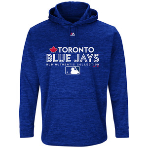 Toronto Blue Jays Authentic Collection Team Drive Ultra Streak Fleece by Majestic