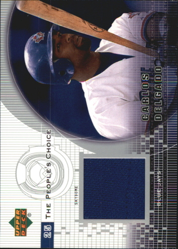 Photo of 2002 Upper Deck Peoples Choice Game Jersey #PJCD Carlos Delgado
