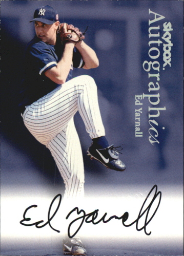 Photo of 2000 SkyBox Autographics #131 Ed Yarnall
