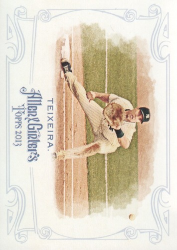 Photo of 2013 Topps Allen and Ginter #53 Mark Teixeira