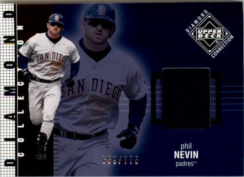 Photo of 2002 Upper Deck Diamond Connection #541 Phil Nevin DC Jsy