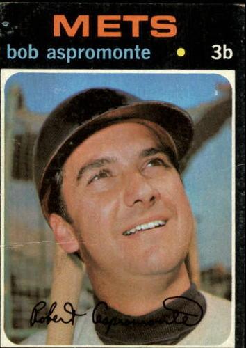 Photo of 1971 Topps #469 Bob Aspromonte