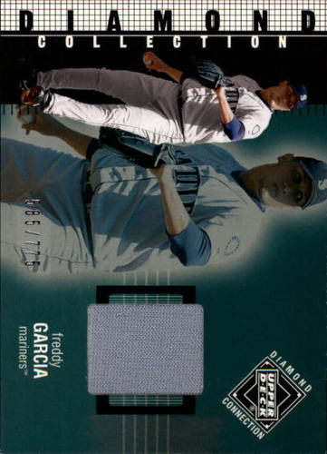 Photo of 2002 Upper Deck Diamond Connection #230 Freddy Garcia DC Jsy