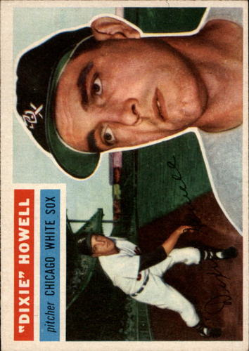 Photo of 1956 Topps #149 Dixie Howell