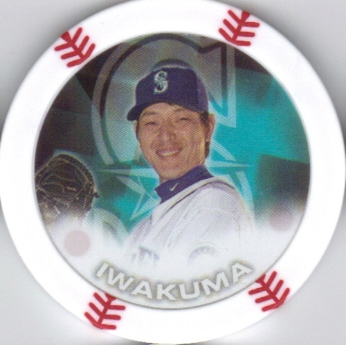 Photo of 2014 Topps Chipz #47 Hisashi Iwakuma