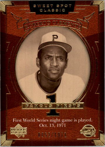 Photo of 2004 Sweet Spot Classic #139 Roberto Clemente FF/1971