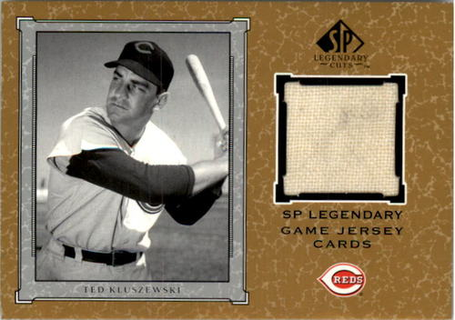 Photo of 2001 SP Legendary Cuts Game Jersey #JTK Ted Kluszewski Jsy