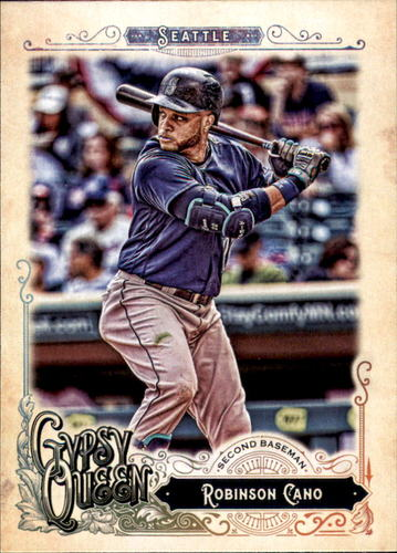Photo of 2017 Topps Gypsy Queen #262 Robinson Cano