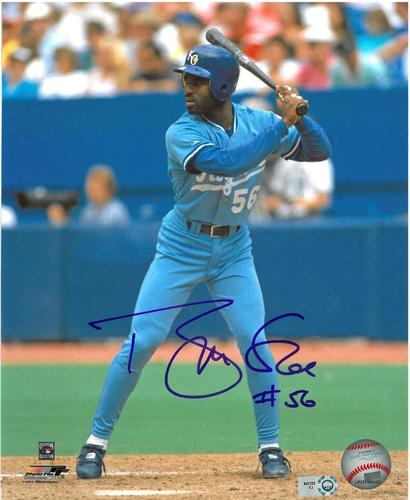 Photo of Brian McRae Autographed 8x10