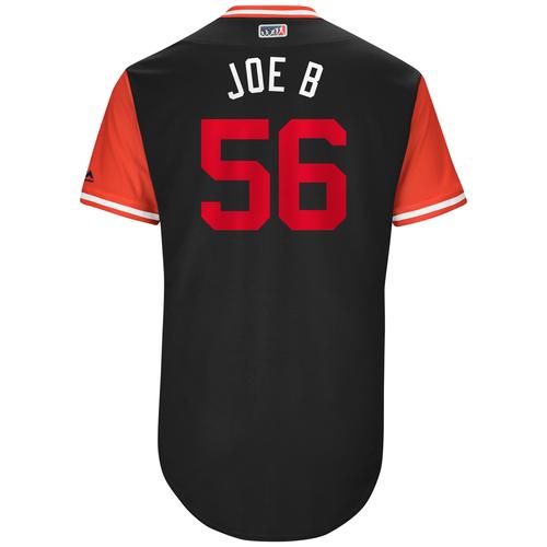 "Photo of Joe ""Joe B"" Blanton Washington Nationals Game-Used Players Weekend Jersey"