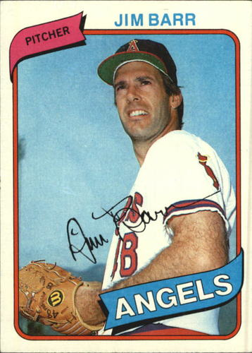 Photo of 1980 Topps #529 Jim Barr