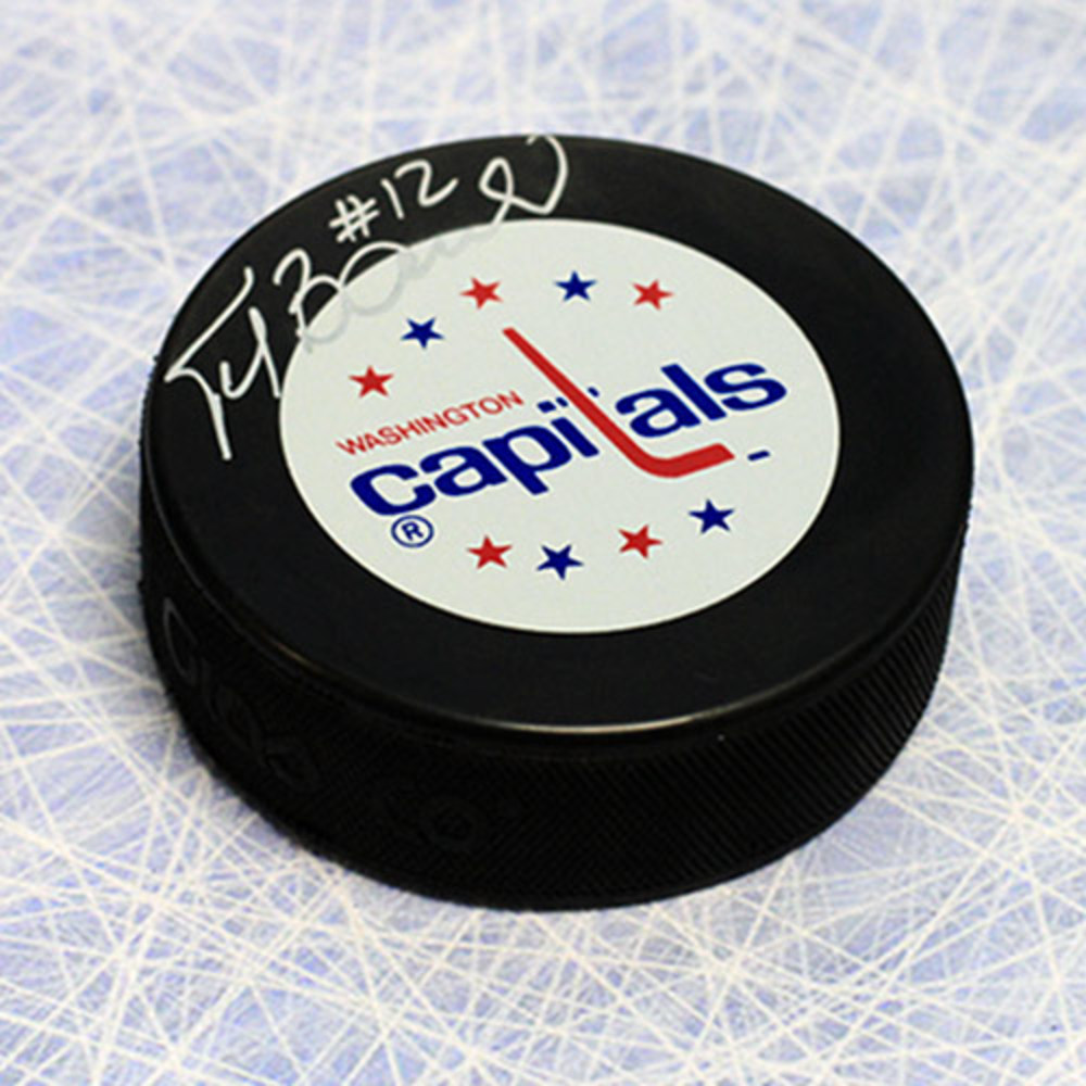 Peter Bondra Washington Capitals Autographed Hockey Puck