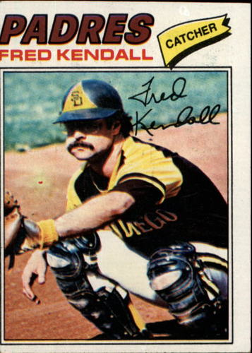 Photo of 1977 Topps #576 Fred Kendall