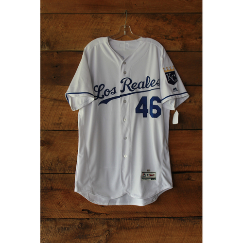 Photo of Ramon Torres Game-Used Jersey (6/24/17 TOR at KC) (Size 46)