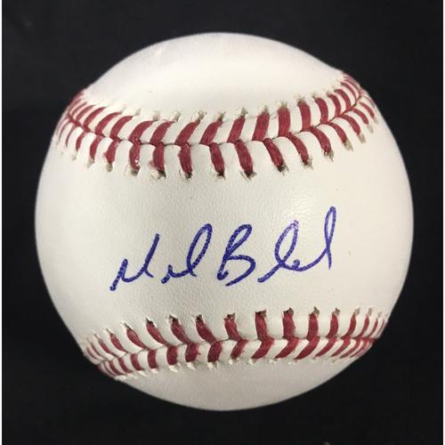 Photo of Mark Buerhle Autographed Baseball