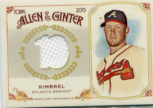Photo of 2015 Topps Allen and Ginter Relics Craig Kimbrel -- Red Sox post-season