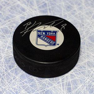 Brandon Prust New York Rangers Autographed Hockey Puck