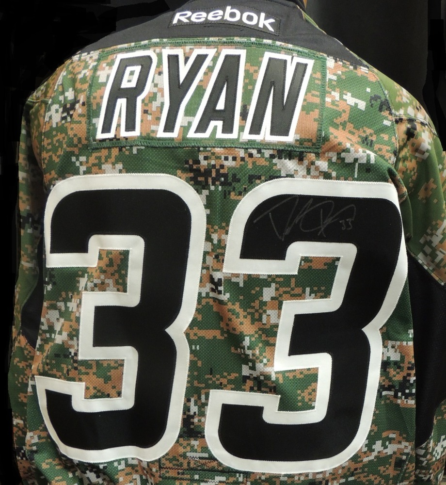 Carolina Hurricanes Derek Ryan #33 Military Appreciation Jersey