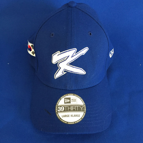 UMPS CARE AUCTION: 2017 World Baseball Classic Team Korea Cap Size L/XL