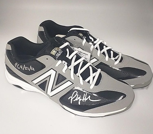 Photo of Philip Humber Autographed Limited Edition Perfect Game Cleats