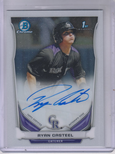 Photo of 2014 Bowman Chrome Prospect Autographs #BCAPRC Ryan Casteel