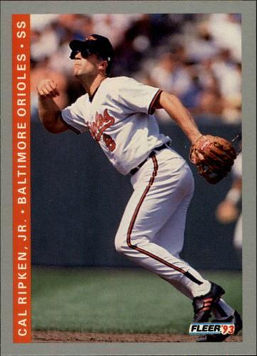 Photo of 1993 Fleer #551 Cal Ripken