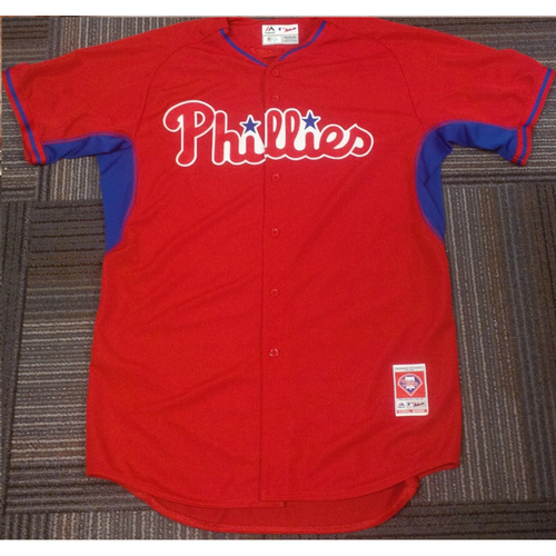 Photo of 2016 Game-Used Nick Williams Future's Game Jersey