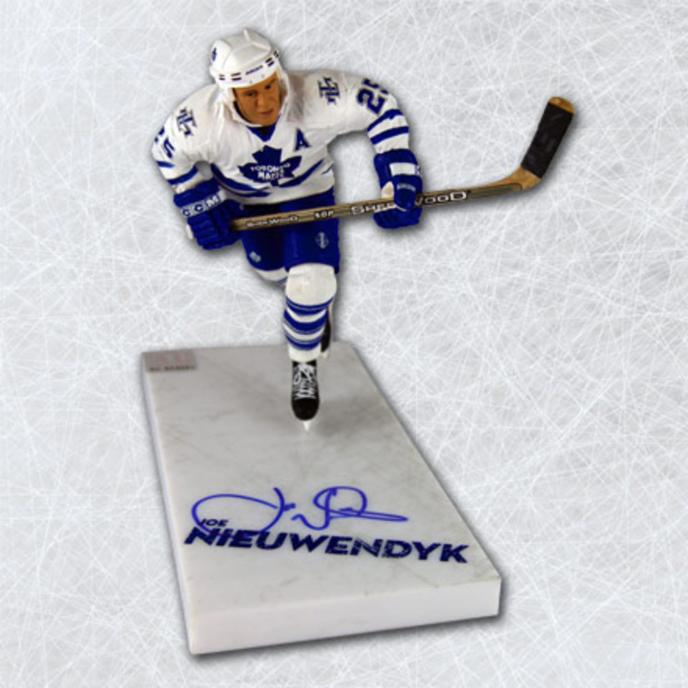 JOE NIEUWENDYK Toronto Maple Leafs SIGNED McFarlane SP