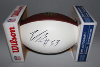 NFL - BILLS ZACH BROWN SIGNED PANEL BALL