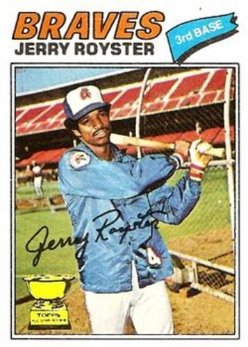 Photo of 1977 Topps #549 Jerry Royster