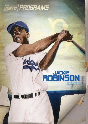 Photo of 2017 Topps Bunt Programs #PRJR Jackie Robinson