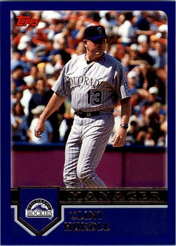 Photo of 2003 Topps #270 Clint Hurdle MG