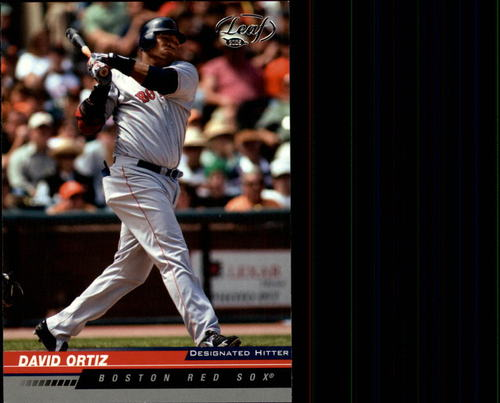 Photo of 2005 Leaf #31 David Ortiz