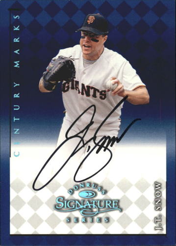 Photo of 1998 Donruss Signature Autographs Century #104 J.T. Snow