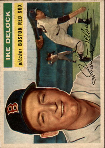 Photo of 1956 Topps #284 Ike Delock