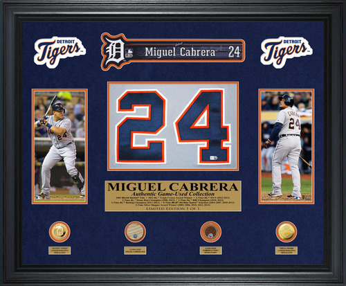 Miguel Cabrera Limited Edition 1 of 1 Collectible