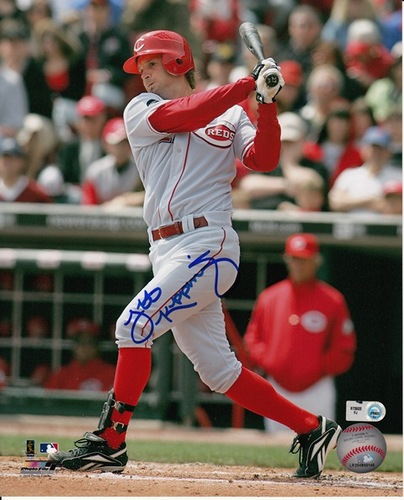 Jeff Keppinger Autographed 8x10