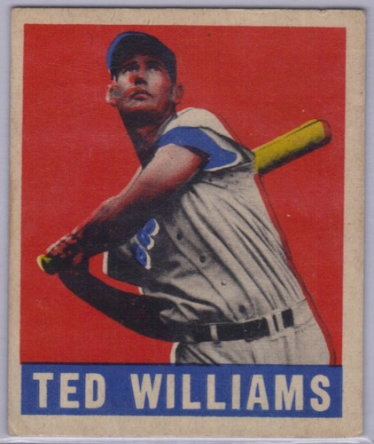 Photo of 1949 Leaf #76 Ted Williams